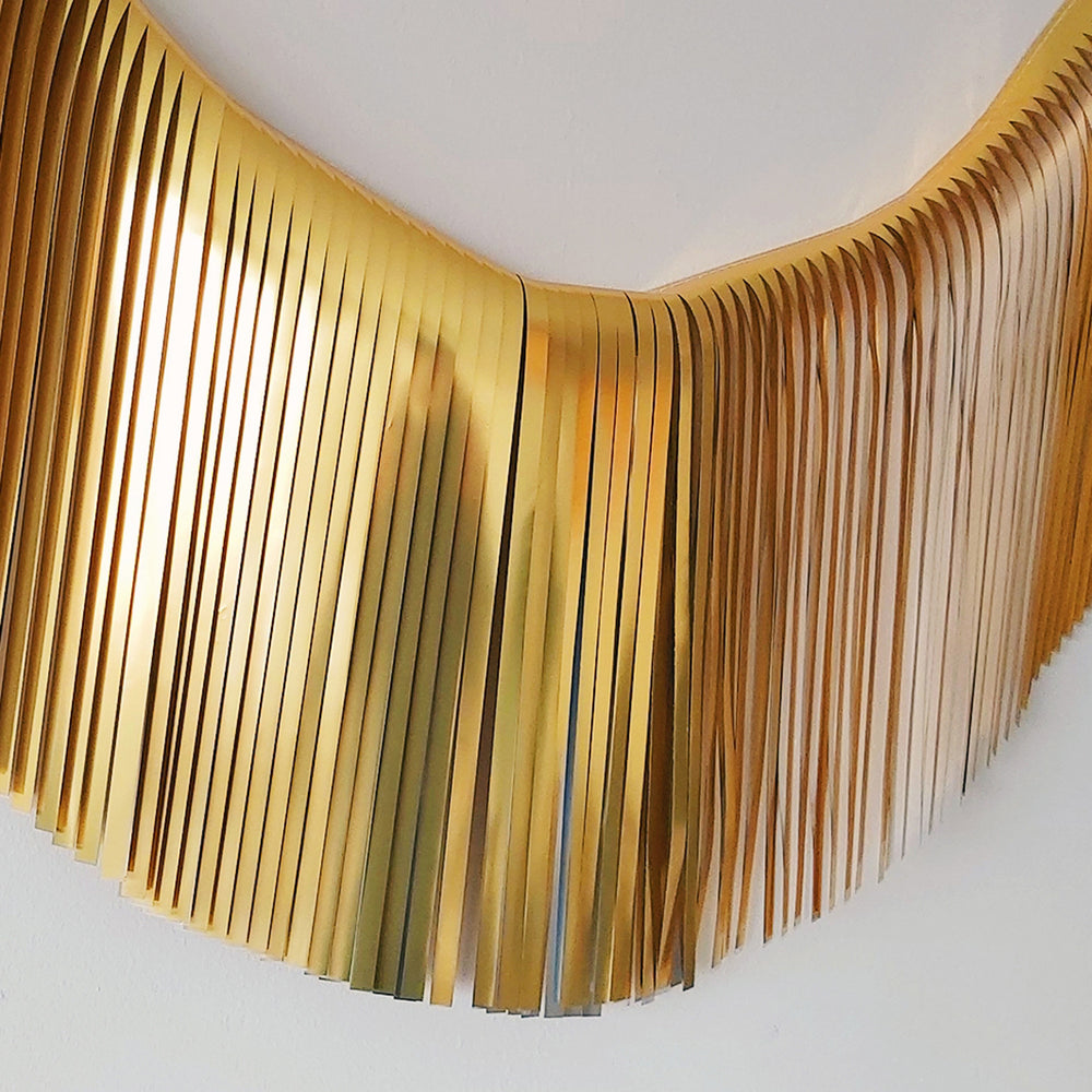 Fringe Garland - Metallic Gold