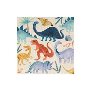 Load image into Gallery viewer, Dinosaur Kingdom Large Napkins