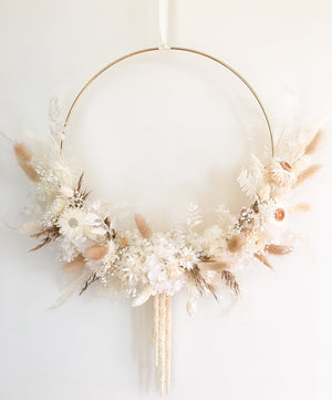 Load image into Gallery viewer, Dreamy Dried & Preserved Floral Wreath-Large