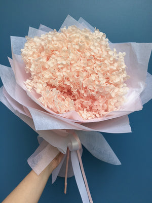 Load image into Gallery viewer, Pink Hydrangea Posy