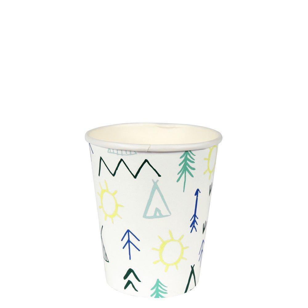 Let's Explore Woodland Party Cups