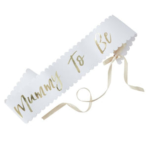 Load image into Gallery viewer, Mum To Be Baby Shower Sash