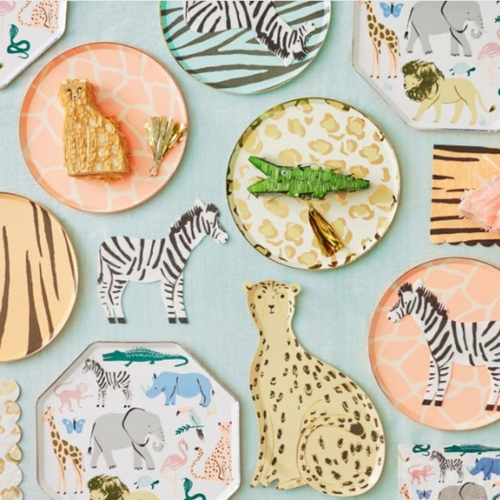 Load image into Gallery viewer, Safari Animal Print Large Napkins