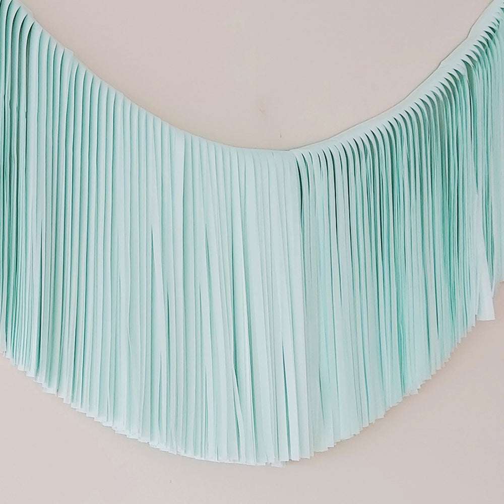 Fringe Garland - Mint
