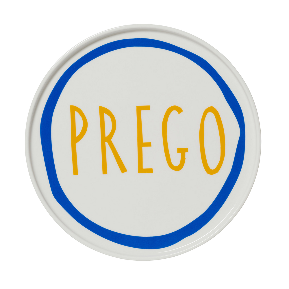 Prego Plate By Daimon Downey