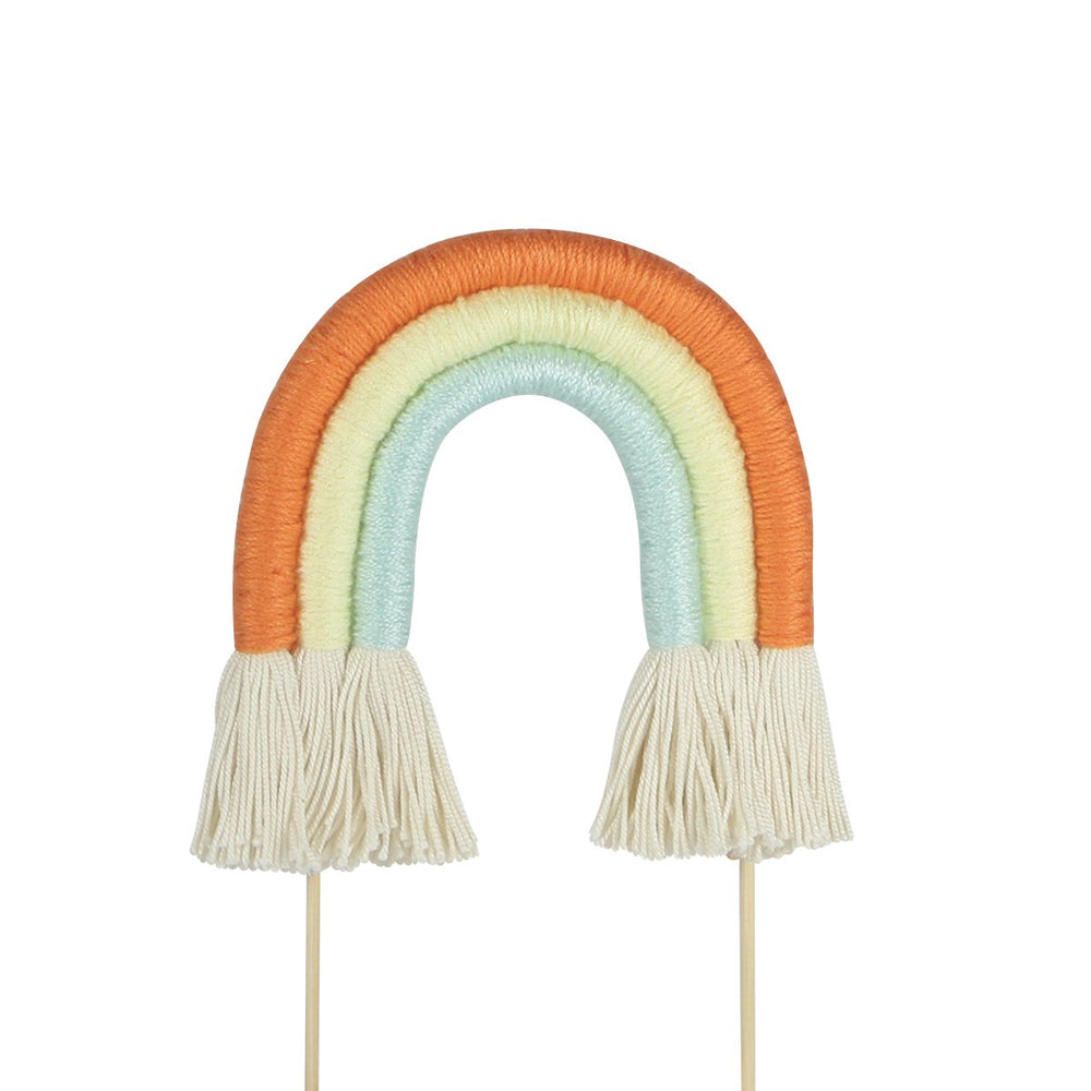Rainbow Cake Topper (Orange)