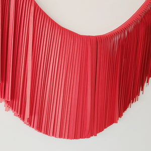 Load image into Gallery viewer, Fringe Garland - Red