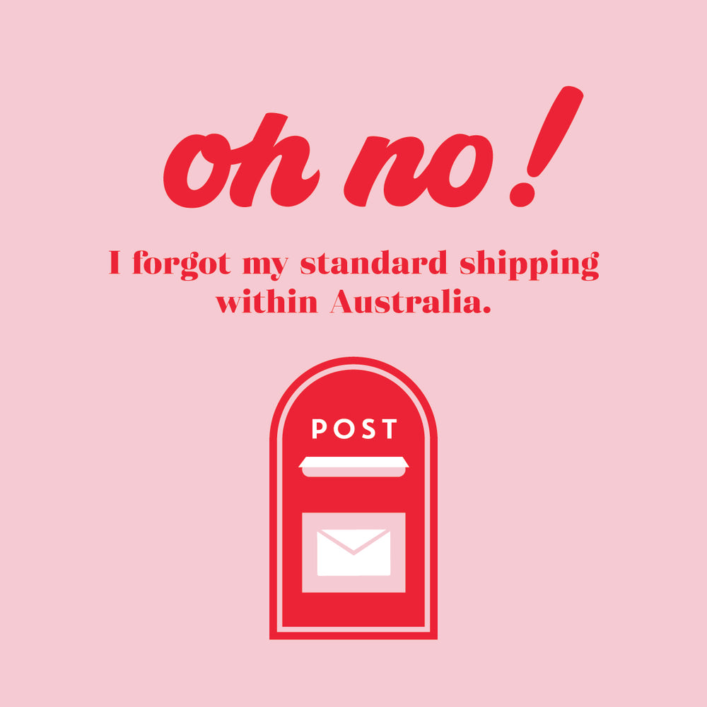 Standard Shipping within Australia