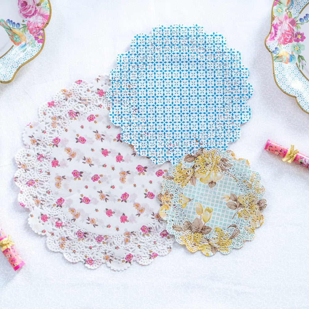 Truly Scrumptious Floral Paper Doilies