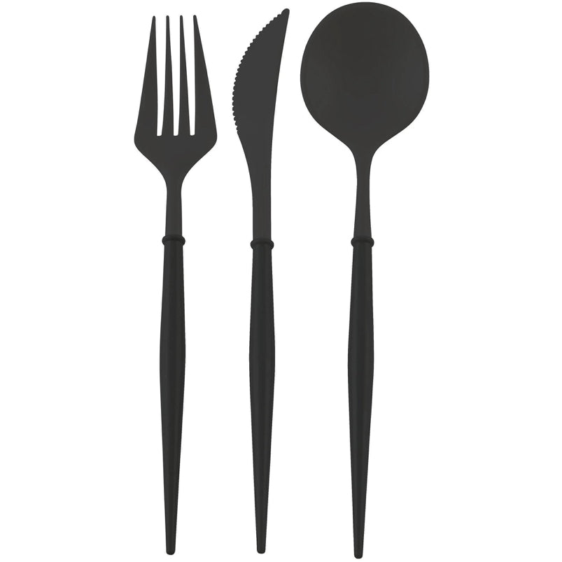 Bella Cutlery Set - Black