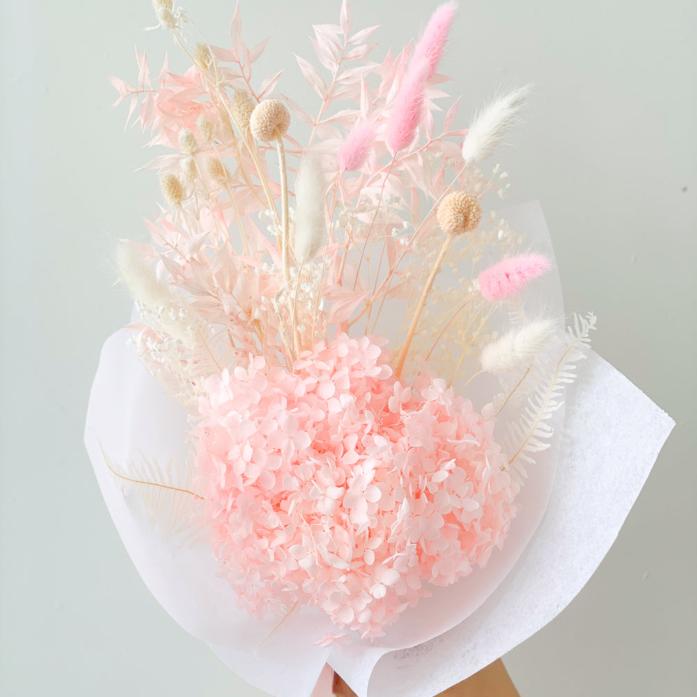 Pink Dream Everlasting Bouquet - Medium