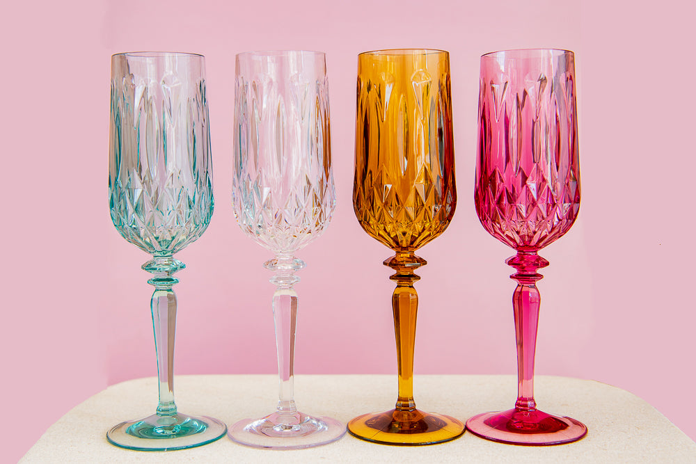 Load image into Gallery viewer, Clear Champagne Flute