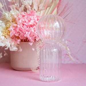 Load image into Gallery viewer, Clear Jelly Vase