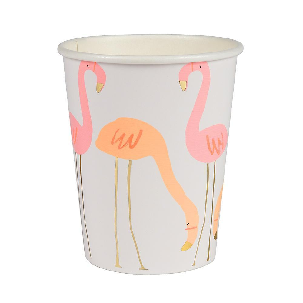 Flamingo Paper Cups