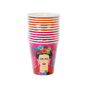 Load image into Gallery viewer, Frida Kahlo Paper Cups