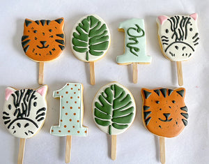 Load image into Gallery viewer, Jungle Safari Cookie Pops