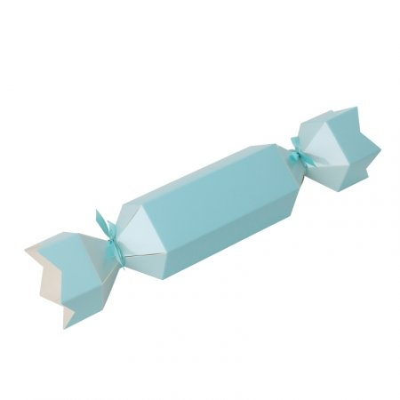 Bonbon Favour Box Pastel Blue 10pk