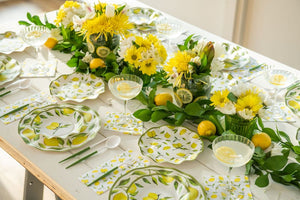 Load image into Gallery viewer, Lemon Drop Paper Cocktail Napkin