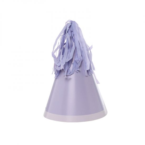 Tassel Lilac Party Hats 10pk