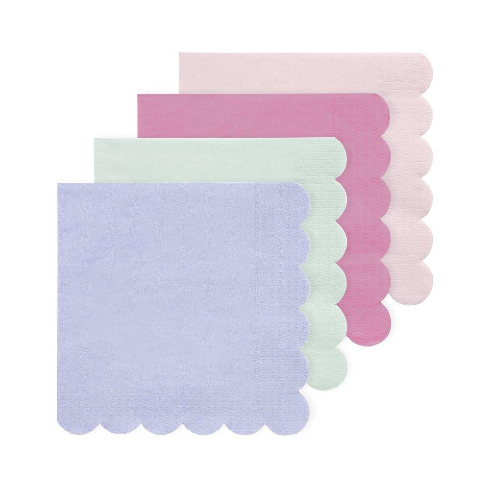 Multicolour Simply Eco Large Napkins (20 Pack)