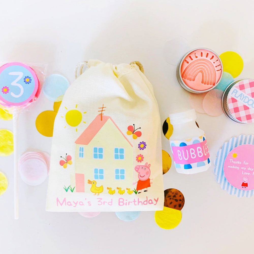 Peppa-Pig Pre-filled Party Bags