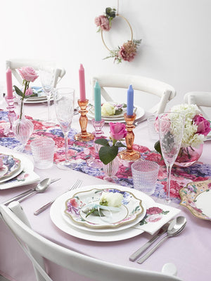 Load image into Gallery viewer, Truly Scrumptious Floral Cocktail Napkins