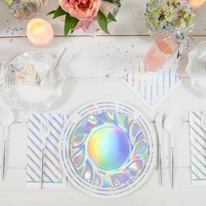 Load image into Gallery viewer, Iridescent Classic Paper Cocktail Napkin