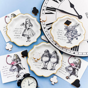 Load image into Gallery viewer, Truly Alice Paper Plates