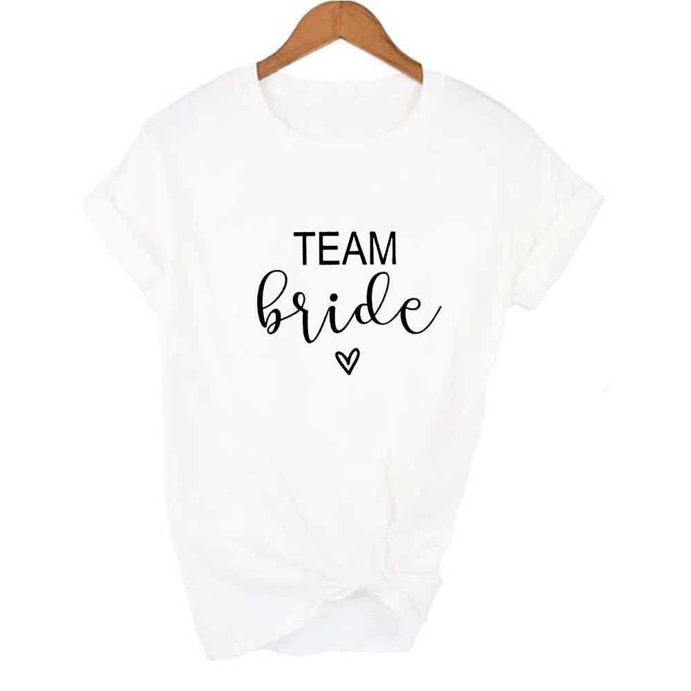 Team Bride Tee Shirt