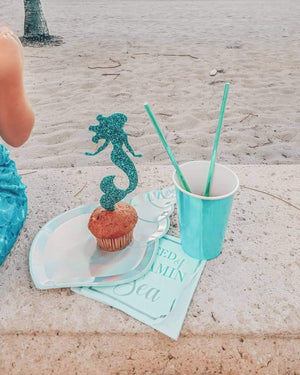 "Load image into Gallery viewer, Shell Yeah, ""In Need of Vitamin Sea"" Mermaid Cocktail Napkins"