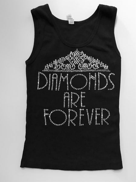 Diamonds Are Forever Bling Tank