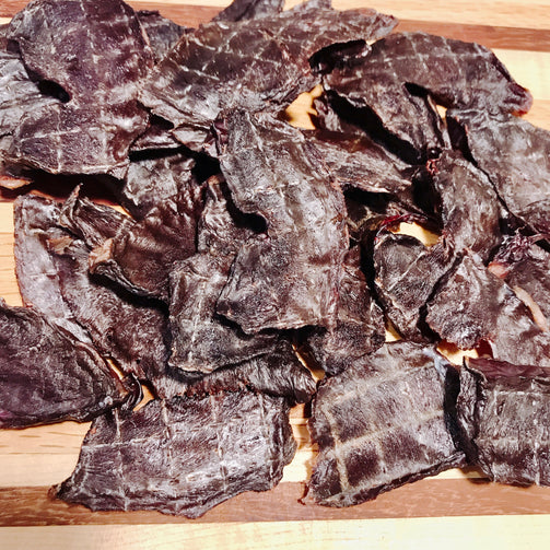 Dried Beef Hearts for Dogs and Cats