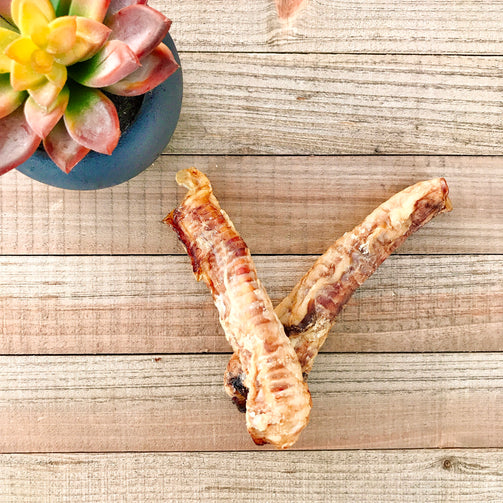 Dehydrated Lamb Trachea Chews by Simply Natural Chews