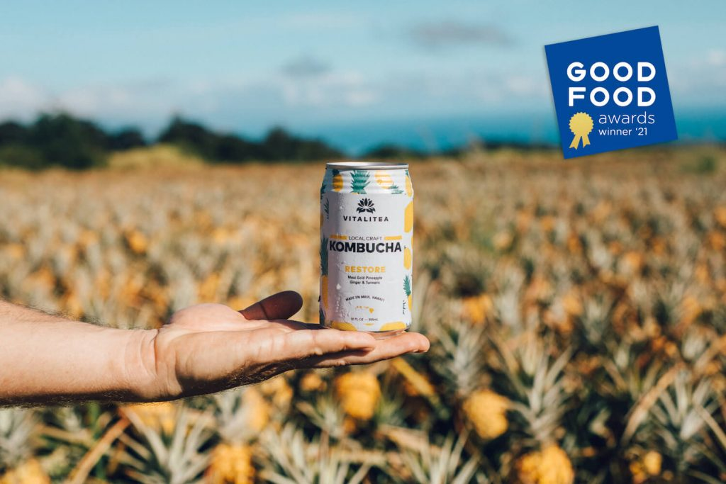 Hawaiʻi-Made Kombucha Honored with 2021 Good Food Award for Elixirs