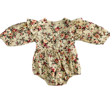 Load image into Gallery viewer, Baby Romper- Flower Print
