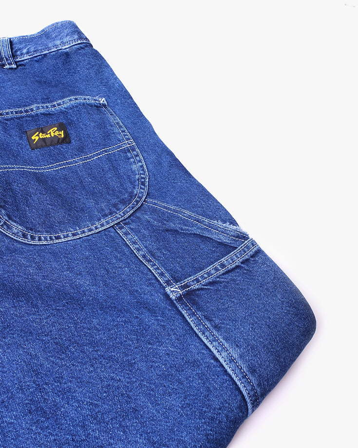 80's Painter Pants Denim - Mid Stone Denim