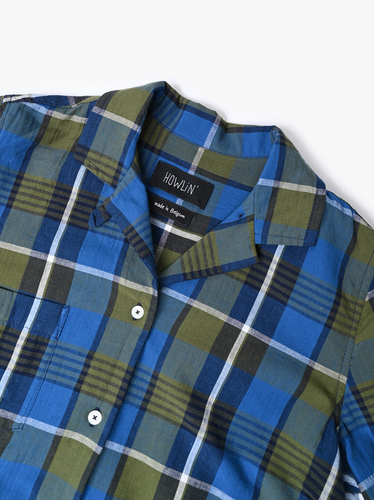 Cocktails For The Girls Please Shirt - Madras Check (Women)