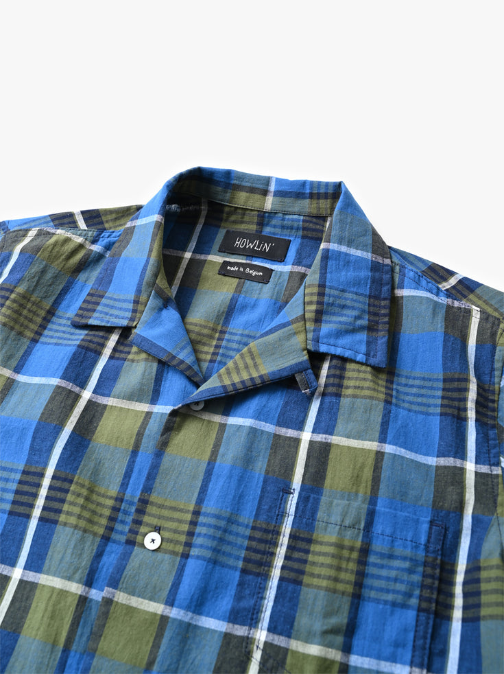 Cocktail Shirt - Madras Check