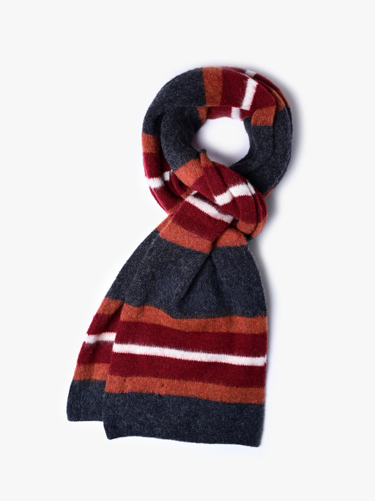 College Can Be Fun Scarf - Charcoal