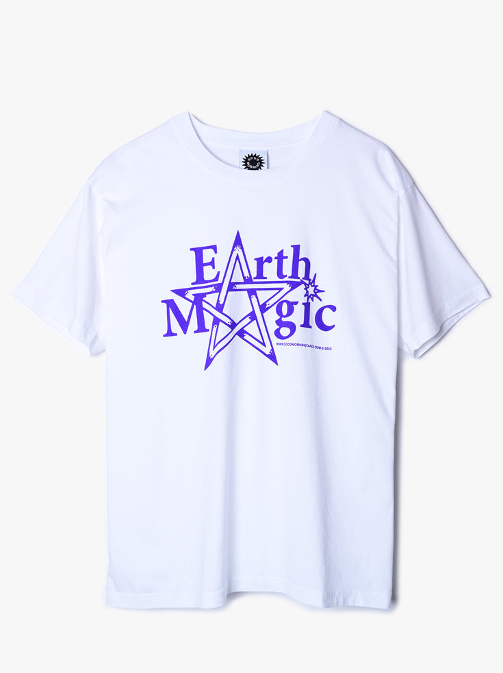 Earth Magic SS Tee - White