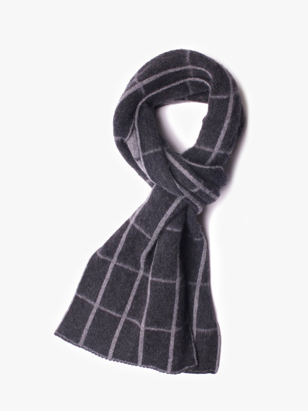 Freak Out Scarf - Charcoal