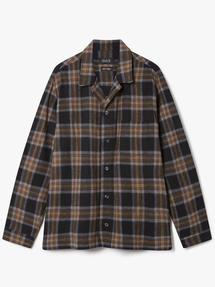 Magic Shirt  - Brown Check