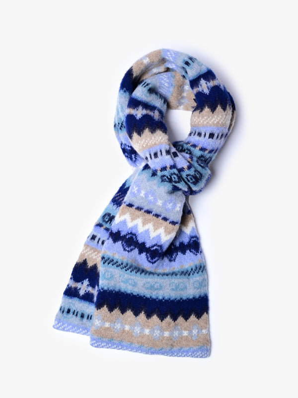 Moscow Discow Scarf - Acid Navy