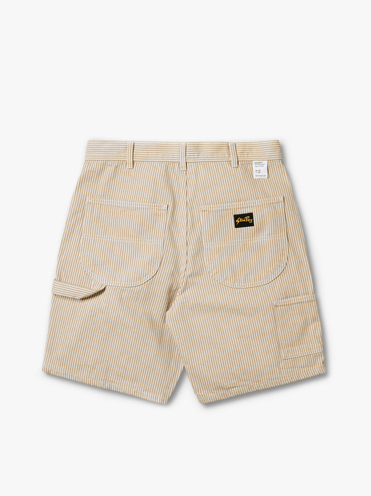 Painter Short - Khaki Hickory