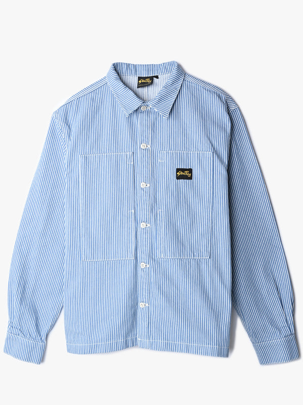 Prison Shirt  - Washed Hickory