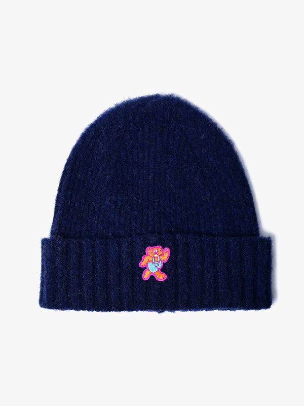Shaggy Bear Hat - Navy *Limited