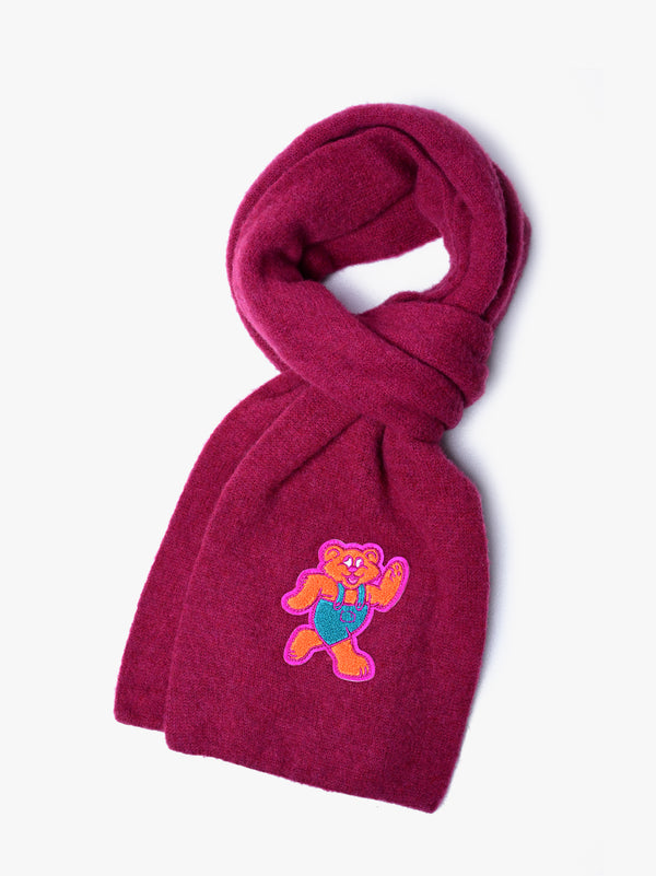 Shaggy Bear Scarf - Prince *Limited