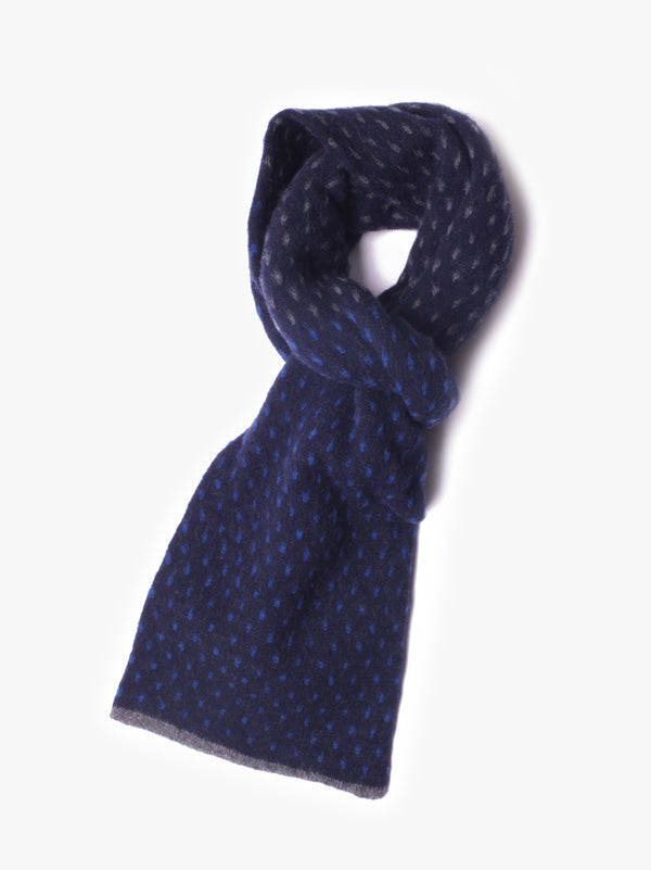 Thriller Scarf - Navy