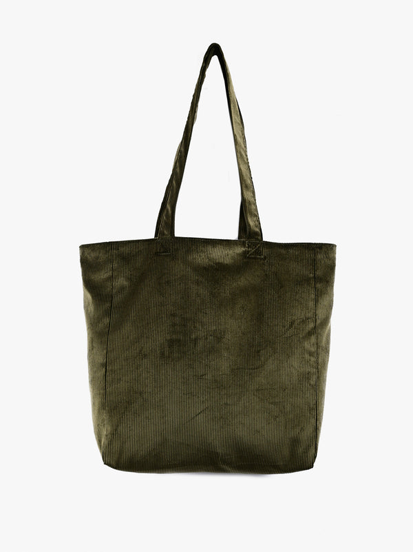 Trust my Bag - Olive UK Corduroy