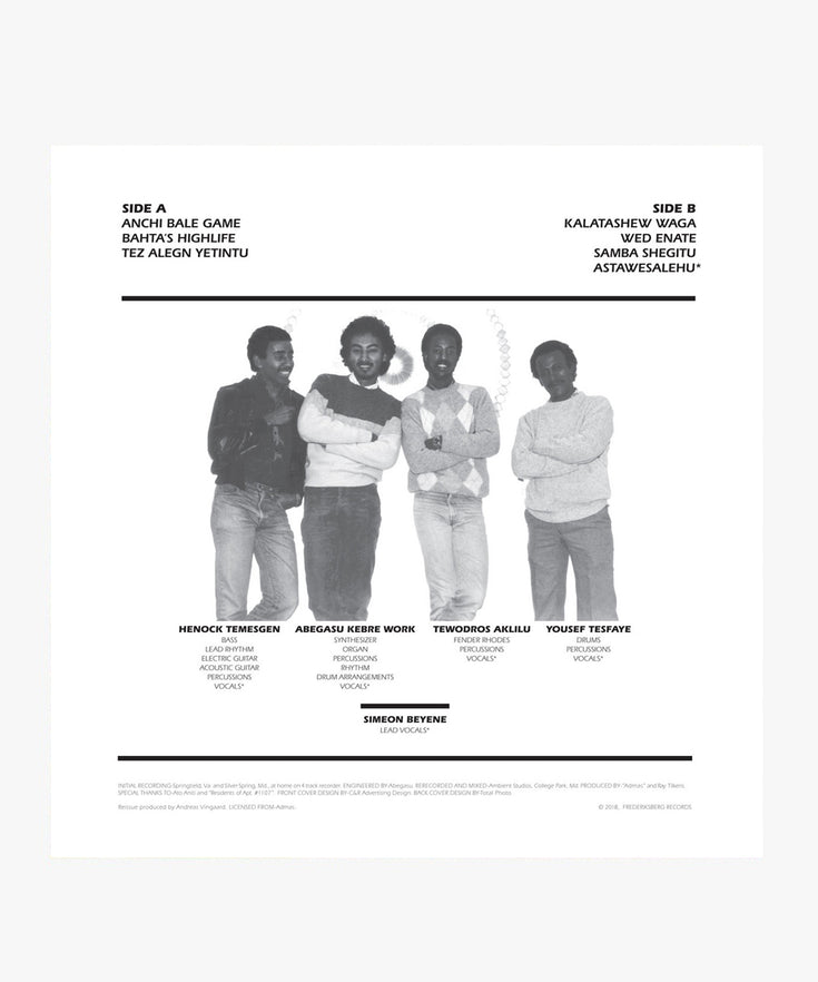 Admas - Sons Of Ethiopa LP
